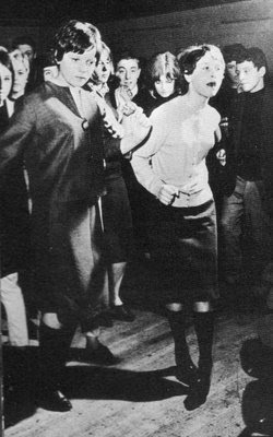 60s mod girls at a soul dance