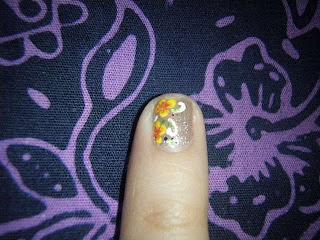nail art design 2nd borneo international trade fair 2010
