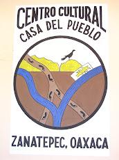 Escudo  de La Casa del Pueblo/ tomado del antigüo lienzo de Zanatepec