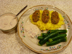 Lamb Kofta with Harissa Yogurt Sauce