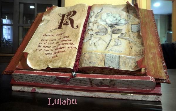 Los telarines de lula mi primer libro antiguo - Como hacer un libro antiguo ...
