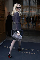 Claudia Schiffer in Black Nylons