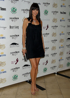 Catherine Bell in a Little Black Dress