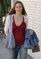 Alicia Silverstone Candids
