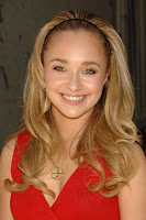 Hayden Panettiere in a Tight Red Dress