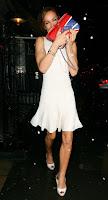 Tara Palmer Tomkinson Shows Off Her Legs