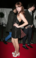 Peaches Geldof in a Little Black Dress