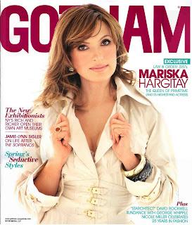 Mariska Hargitay Gotham Photoshoot