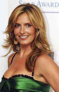 Penny Lancaster Shows Off Her Legs
