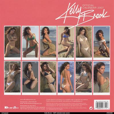 Kelly Brook 2007 Calendar
