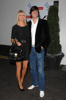 Tess Daly in a Little Black Dress