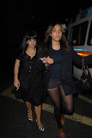Lily Allen & Miquita Oliver Leaving a Nightclub