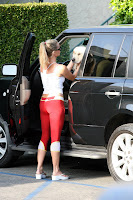 Nicollette Sheridan Workout Candids