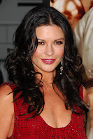 Catherine Zeta Jones Cleavage Shots