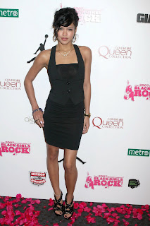Cassie in a Little Black Dress