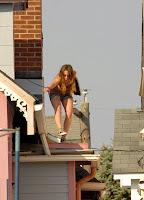 Hilary Duff Leggy Candids
