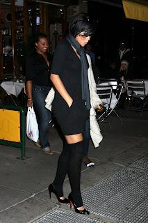 Rihanna Leggy Candids