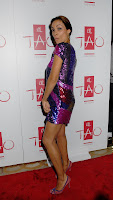 Rosario Dawson Flashes Some Thigh