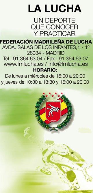 FEDERACIÓN MADRILEÑA DE LUCHA (WEB)