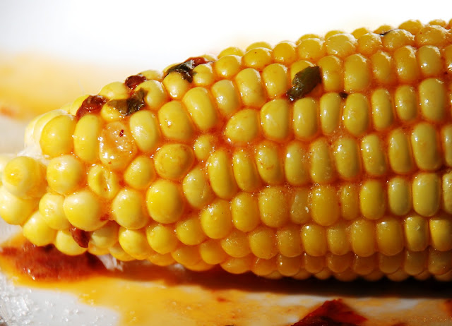 ... love the extra spice that the chipotle chili butter gives your corn