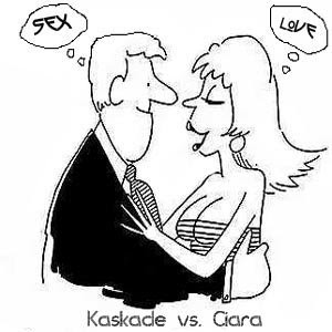 here's my favorite kaskade track it's you, it's me with ciara's love, sex ...