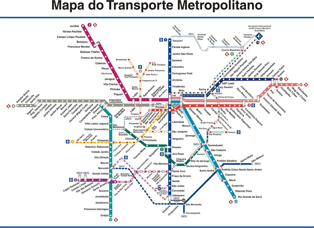 Metr  Guide2   Guia De Pega    O Do Metr   SP