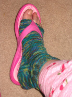Knitting Pattern For Pedicure Socks : FREE KNITTING PATTERN FOR PEDICURE SOCKS   KNITTING PATTERN