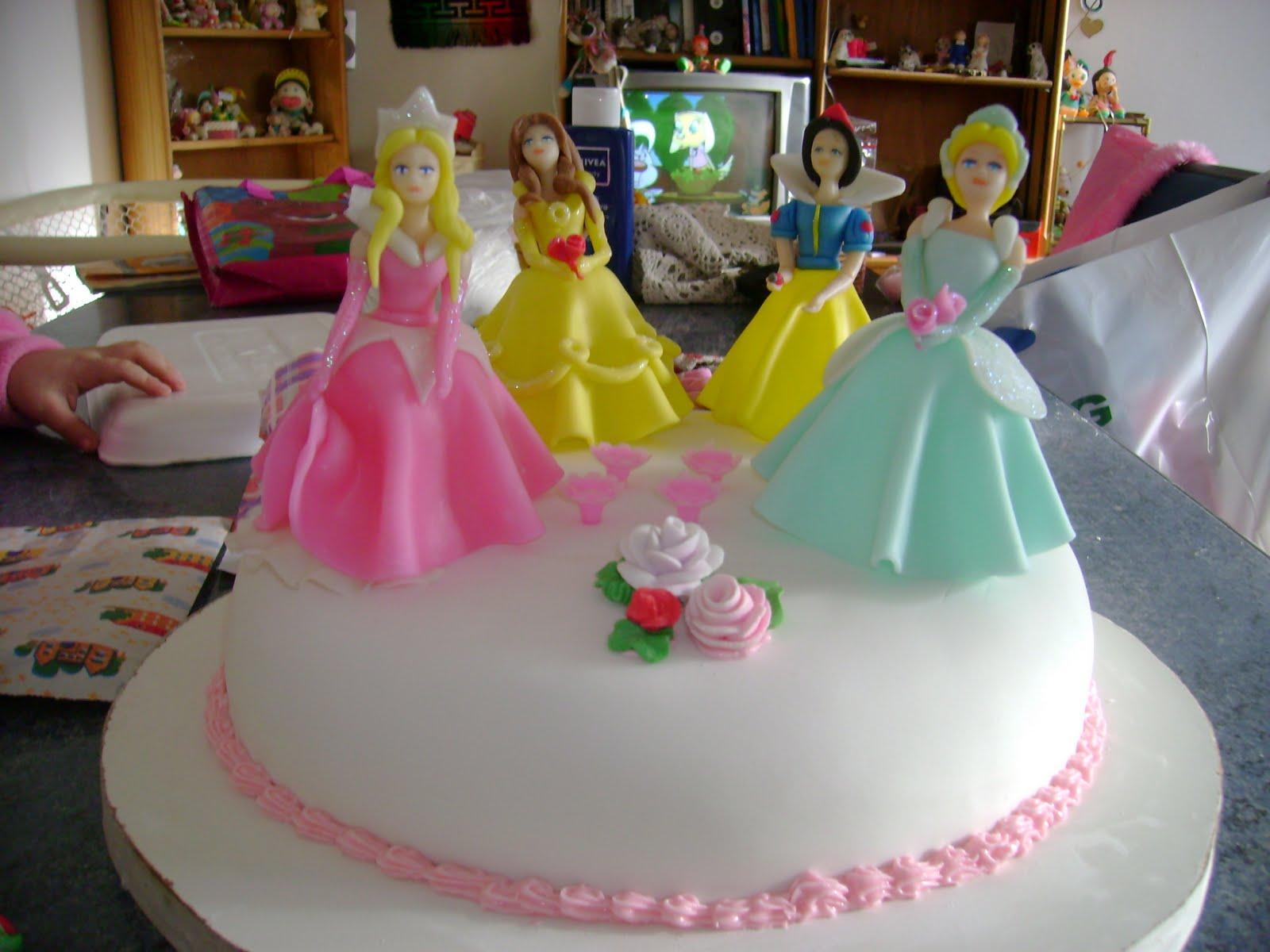 Tortas decoradas con princesas - Imagui