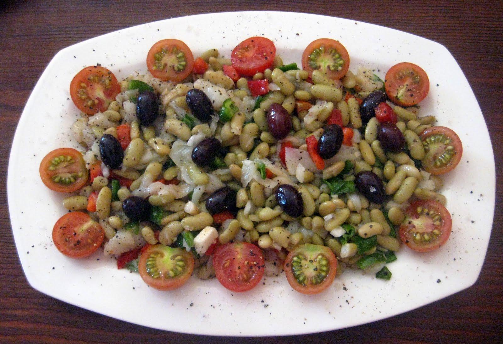 Cocina con quenyin ensalada de alubias verdes verdinas - Ensalada de alubias ...