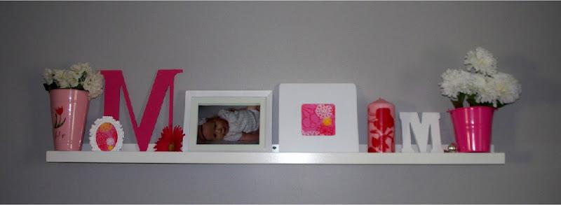 White Floating Shelfs for Girls Room