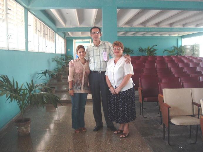 Madelém, Alejandro y Blanca