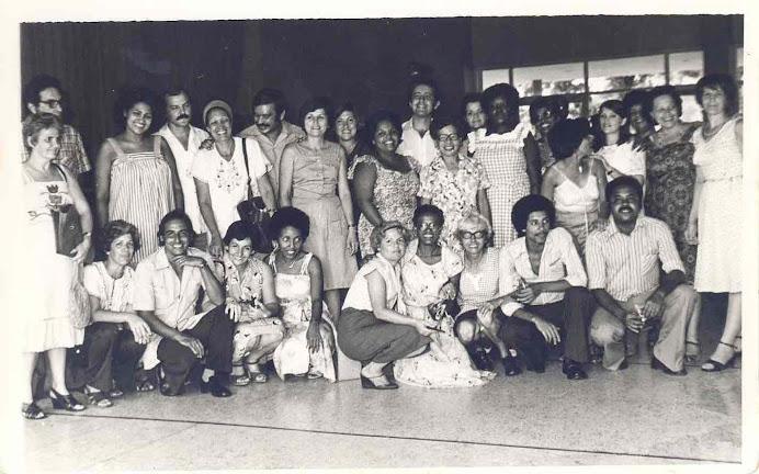 Muchos de nuestros profesores con los caboverdianos