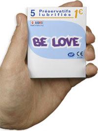 BE LOVE, Le préservatif à 20 centimes d'euros pas Antoine & Associés