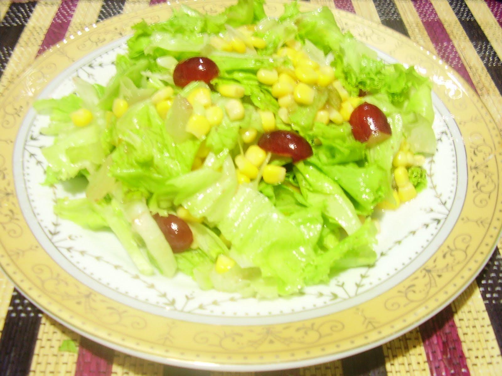Resep Masakan Keluarga Susono: SALAD SAUS JERUK