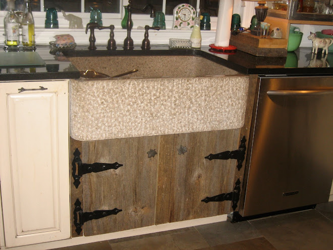 My dream Farmhouse Granite Sink!