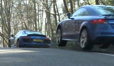 audi tt blogspotcom. Audi R8 V10 vs Audi TT-RS