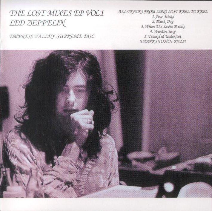 Led Zeppelin Hot Dog Album