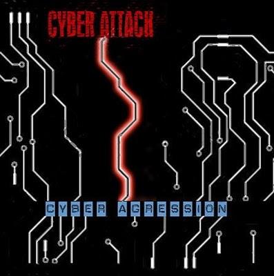 Cover Album of Cyber Attack - Cyber Agression (2010)