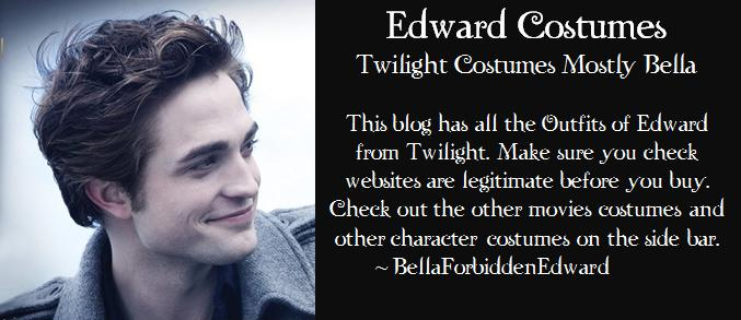 Edward Twilight Costumes Mostly Bella