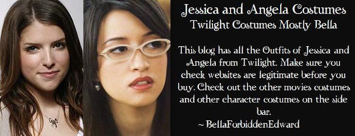 Jessica and Angela Twilight Costumes Mostly Bella