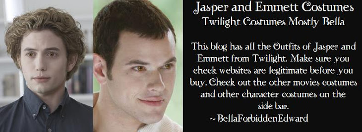Jasper and Emmett Twilight Costumes Mostly Bella
