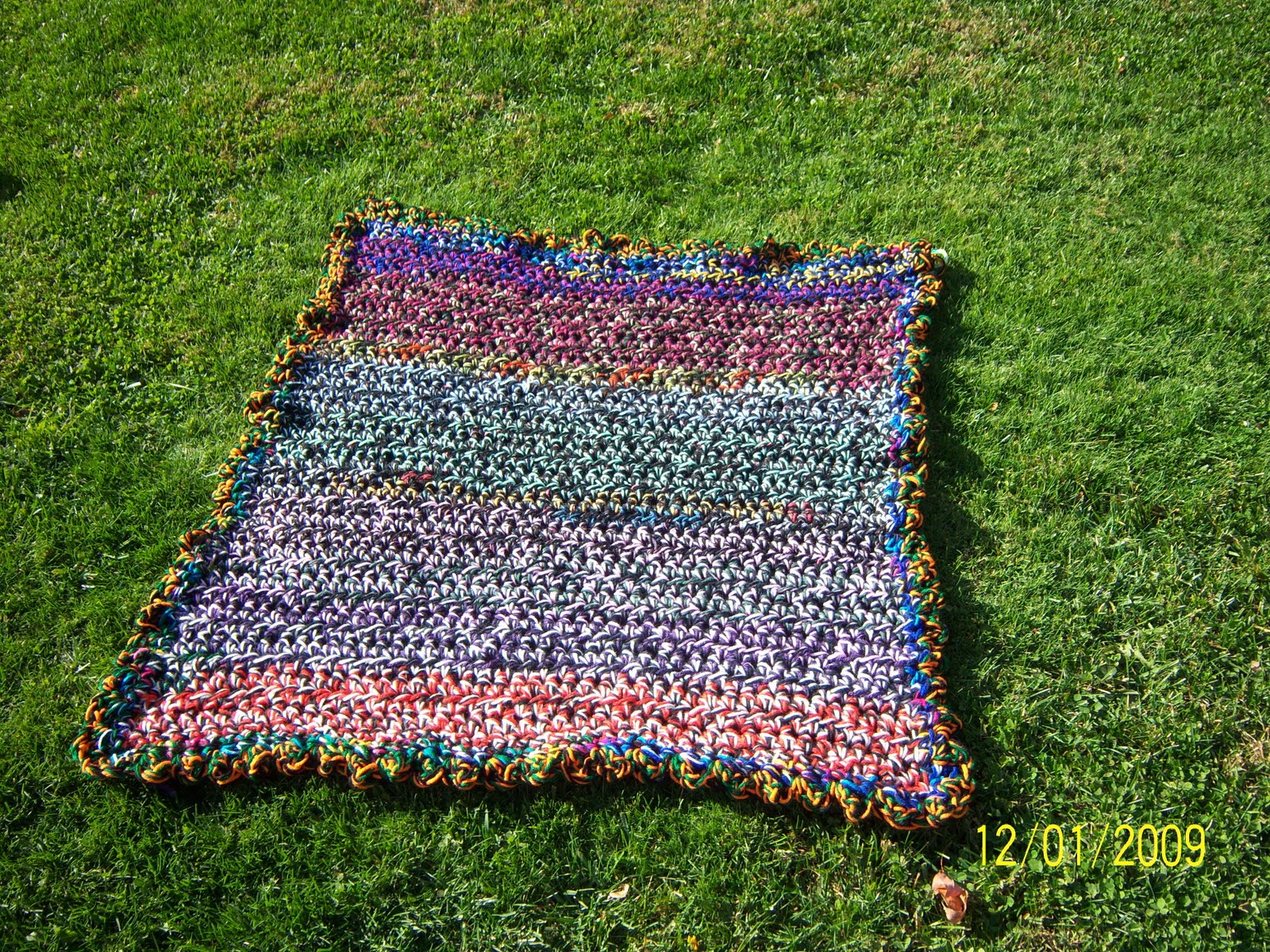 Sharons Eclectic Retreat: A Crocheted Mat for My Fur-Babies