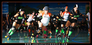 B-train, OC Roller Girls, SVRG,  Silicon Valley Roller Girls, Smash N' Burn, Mistits, California Roller Derby, Adrian Valenzuela, Wicked Skatewear