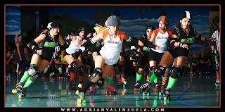 B-train, OC Roller Girls, SVRG,  Silicon Valley Roller Girls, Smash N' Burn, Mistits, California Roller Derby, Adrian Valenzuela, Wicked Skatewear
