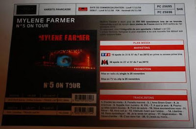 photo concert mylene farmer 2009