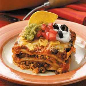 LivyBean: Easy GF Mexican Lasagna