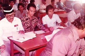 Aku Selaku Naib Ketua Pemuda UMNO Cawangan Batu Gajah 1984