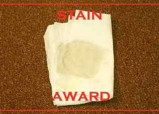 The Award Howie Stole from Pearly Poo
