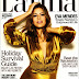 Eva Mendes cover girl of Latina Magazine - December/January 2009