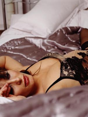 Laila Rouass - Stephen Perry Hot Lingerie Photoshoot